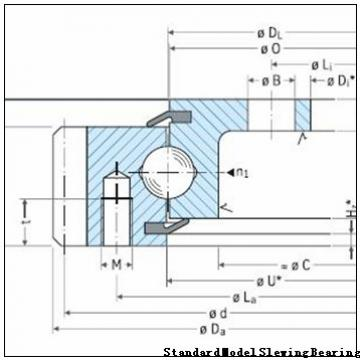 double row ball slewing bearings for shield tunneling machine