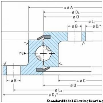 XSA140844-N Crossed roller slewing bearings